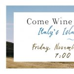 Come Wine with Us - Italy's Island Wines