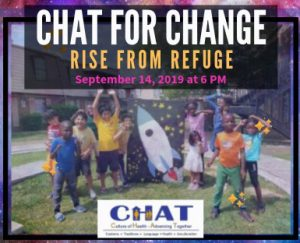CHAT for Change-Rise from Refuge Gala