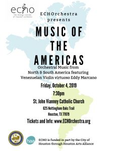 ECHOrchestra presents Music of the Americas