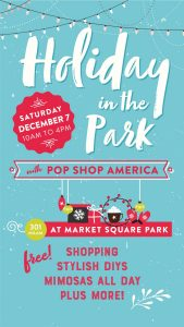 Holiday in the Park with Pop Shop America
