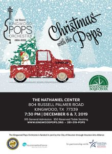 "Kingwood Pops Orchestra ""Christmas with the Pops"" ..."