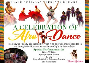 Dance Afrikana presents Kuumba: A Celebration of Afro-Dance