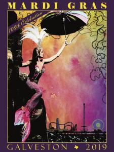 Mardi Gras! Galveston 2020 Official Poster Contest...