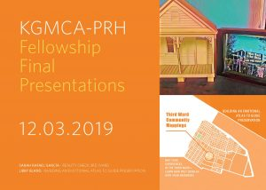 Project Row Houses & KGMCA Host 2019 Fellowship Final Presentations