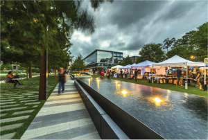 CityPlace Holiday Art Market and District Lighting