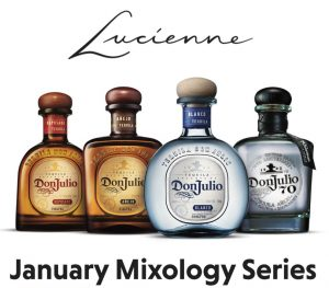 Weekly Mixology Classes at Lucienne for the Month of January 2020