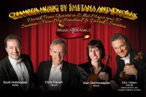 Chamber Music by Dvorak and Smetana