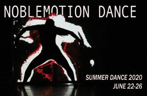 NMD's 6th Annual Summer Dance Intensive - Online!