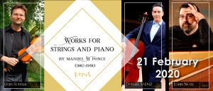 Works for Strings and Piano by Manuel M. Ponce