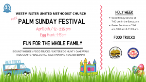 Westminster's Palm Sunday Festival