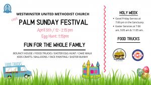 Westminster's Palm Sunday Festival