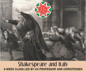 Shakespeare and Italy - Cultural Enrichment Class