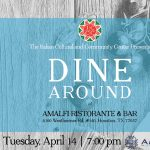 ICCC Dine Around: Amalfi Ristorante