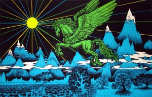 Glow: Vintage Blacklight Posters from the 60s and ...