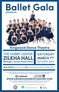 Kingwood Dance Theatre's Ballet Gala