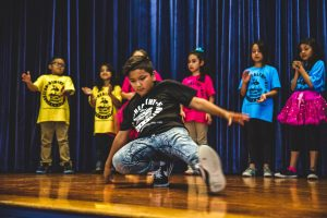 Houston Healthy Hip Hop Workshop with Young Audiences of Houston and Levy Park