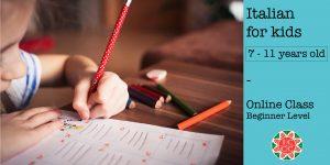 Italian for Kids - Beginner Level (7-11)