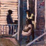 """Ryan Baptiste """"The Light Beyond The Blight"""" at Redbud East Gallery"""