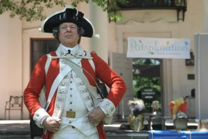 Soldiers of the American Revolution with YAH and L...