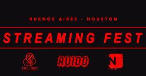 TVL REC+RUIDO and Nameless Sound present STREAMING...