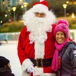 Skate with Santa on The Ice powered by Green Mountain Energy