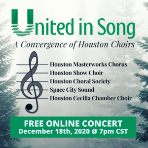 United in Song – A Convergence of Houston Choirs