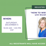 """How to Write Funny"" ONLINE with Wendi Aarons"