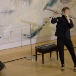Cy Twombly and Music: Claire Chase, flute