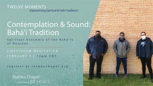 Contemplation & Sound: Baha'i Tradition