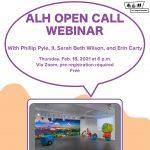 ALH Open Call Webinar