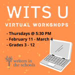 WITS U - Online Poetry Workshops for Students