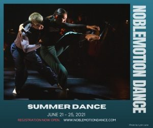 NMD's 7th Annual Summer Dance Intensive