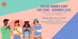 Italian Summer Camp for Teens - Beginner Level