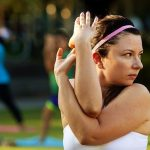 Hatha Yoga Class at Discovery Green