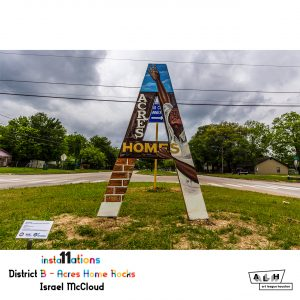 Insta11ations District B: Acres Home Rocks