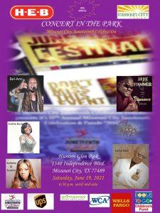 Missouri City Juneteenth Concert in the Park