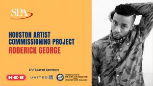 Houston Artist Commissioning Project Digital Premiere - Roderick George