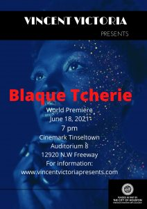 Blaque Tcherie:The Beginning of the Black Pin Up Girl