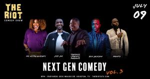 The Riot - A Standup Comedy Show Presents Next Gen Comedy Vol. 3