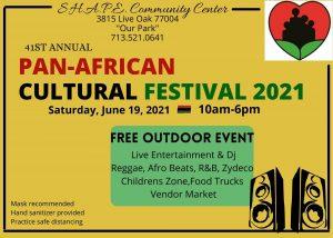 SHAPE Center 41st Annual Pan-African Cultural Festival