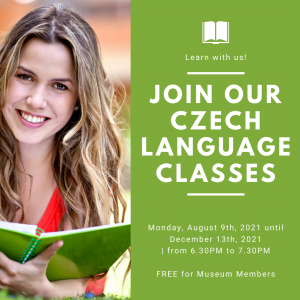 Free Czech language classes for CCMH members