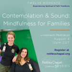 Contemplation and Sound: Mindfulness for Families