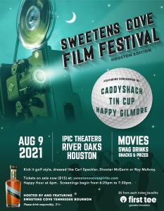 Sweetens Cove Bourbon Film Festival Benefitting Fi...