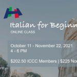 Italian for Beginners - A1S1 (Online Class)