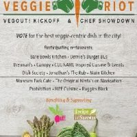 Veggie Riot! (VegOut! Kick-Off & Chef Showdown)