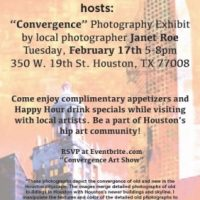 Convergence Photography Exhibit (works by Janet Roe)