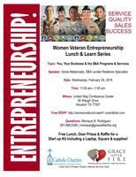 Women Veteran Entrepreneurship Lunch & Learn Series