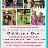 Children's Day at the Fort Bend Museum
