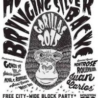 The Houston Zoo Bringing Back Silverbacks City-Wide Block Party