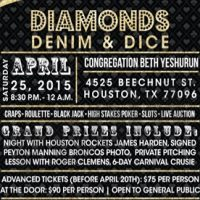 Diamonds, Denim & Dice Casino Night